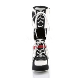 Leatherette 9,5 cm REFEREE-200 cosplay boots womens
