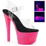 Neon glitter 18 cm Pleaser SKY-308UVG pole dance high heels schuhe