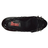 Patent 13,5 cm PIXIE-18 womens peep toe pumps shoes
