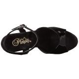 Patent 25,5 cm BEYOND-009 extrem platform high heels shoes