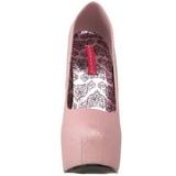 Pink Glitter 14,5 cm Burlesque TEEZE-31G Platform Pumps Schuhe