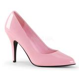 Pink Lack 10 cm VANITY-420 Damen Pumps Schuhe Flach