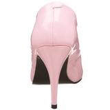 Pink Lack 10 cm VANITY-420 High Heels Pumps für Männer