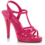 Pink Lack 12 cm FLAIR-420 High Heel Sandaletten Damen