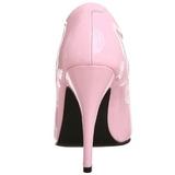 Pink Lack 13 cm SEDUCE-420 High Heels Pumps für Männer