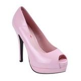 Pink Varnished 13,5 cm BELLA-12 Women Pumps Shoes Stiletto Heels