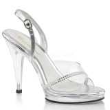 Rhinestones 11,5 cm FLAIR-456 transvestite shoes