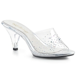 Rhinestones 8 cm FABULICIOUS BELLE-301SD womens mules shoes
