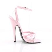 Rosa 15 cm DOMINA-108 fetisch high heels schuhe