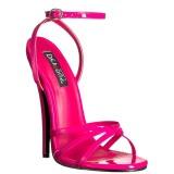 Rosa 15 cm Devious DOMINA-108 Sandaletten mit high heels
