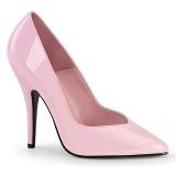Rosa Lack 13 cm SEDUCE-420V High Heels Pumps für Männer