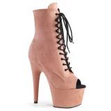 Rosa faux suede 18 cm ADORE-1021FS pole dance ankle boots