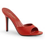 Rot 10 cm CLASSIQUE-01 damen pantoletten schuhe