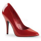 Rot Lack 13 cm SEDUCE-420 spitze pumps high heels