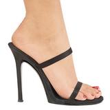 Schwarz 11,5 cm Fabulicious GALA-02 Damen Mules Schuhe
