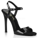 Schwarz 11,5 cm GALA-09 fabulicious sandaletten mit stiletto absatz