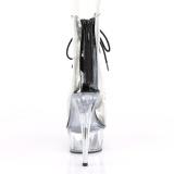 Schwarz 15 cm DELIGHT-600-34 pole dance stiefeletten