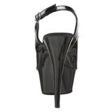 Schwarz 15 cm DELIGHT-654 Damenschuhe mit hohem Absatz