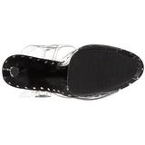 Schwarz 18 cm Pleaser ADORE-708LS Plateau High Heels
