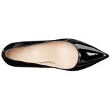 Schwarz Lack 10 cm CLASSIQUE-20 High Heels Pumps für Männer