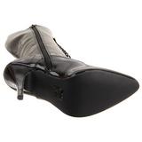 Schwarz Lack 13 cm SEDUCE-2020 High Heels Damenstiefel für Männer