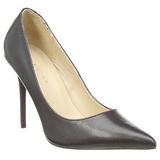 Schwarz Matt 10 cm CLASSIQUE-20 High Heels Pumps für Männer