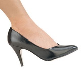 Schwarz Matt 10 cm DREAM-420 high heel pumps klassisch