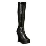 Schwarz Matt 13 cm ELECTRA-2000Z High Heels Damenstiefel für Männer