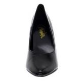 Schwarz Matt 13 cm SEDUCE-420V spitze pumps high heels