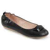 Schwarz OLIVE-08 ballerinas flache damenschuhe