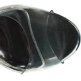 Silber 10,5 cm LOVELY-450 Wedge Sandaletten mit Keilabsatz