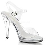 Silber 11,5 cm FLAIR-408 high heels für männer