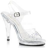 Strasssteinen 11,5 cm FLAIR-408SD high heels für männer