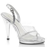 Strasssteinen 11,5 cm FLAIR-456 Sandaletten mit high heels