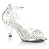 Strasssteinen 8 cm BELLE-330RS high heels für männer
