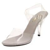 Transparent 10,5 cm CARESS-408 High Heel Sandaletten Damen