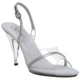 Transparent 10,5 cm CARESS-456 High Heel Sandaletten Damen