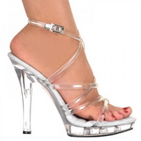 Transparent 13 cm LIP-106 Platform High Heel Schuhe