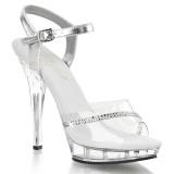 Transparent 13 cm LIP-108R fabulicious posing high heels schuhe