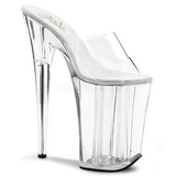 Transparent 23 cm Pleaser INFINITY-901 Plateau High Heel Mules