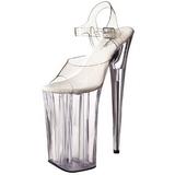 Transparent 25,5 cm Pleaser BEYOND-008 Plateau High Heels