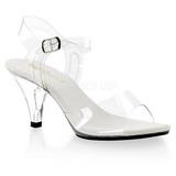 Transparent 8 cm BELLE-308 High Heels Damenschuhe für Herren