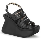 Vegan 11,5 cm Demonia PACE-33 lolita plateau sandaletten