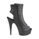Vegan 15 cm DELIGHT-600-18 Exotic pole dance ankle boots