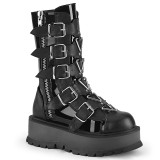 Vegan 5 cm SLACKER-160 cyberpunk platform boots