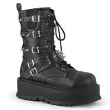 Vegan 5 cm SLACKER-165 cyberpunk platform boots