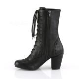 Vegan 7,5 cm VIVIKA-200 Victorian ankle boots