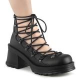 Vegan 7 cm BRATTY-32 alternative shoes platform black
