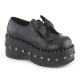 Vegan 8 cm Demonia DOLLY-05 lolita plateauschuhe