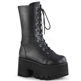 Vegan 9 cm ASHES-105 Demonia stiefel plateau